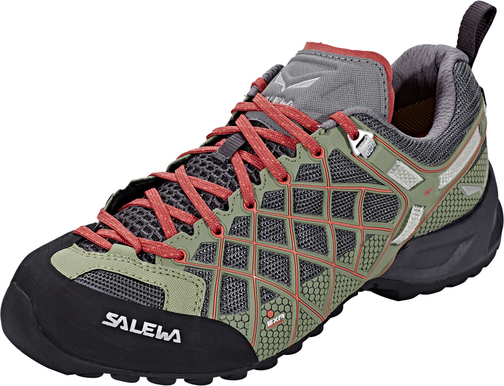 Salewa MTN Trainer GTX Shoes Women funghi/indio UK 5,5 (EU 38,5) 2017 Trekking- & Wanderschuhe